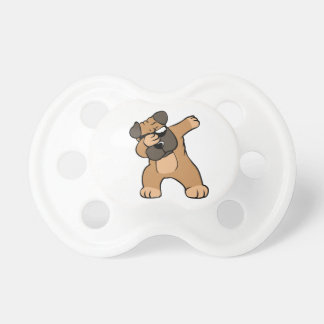 Dabbing Pug Funny Pacifier