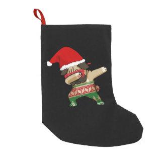 Dabbing Pug - Ugly Christmas Sweater Stocking