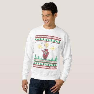 Dabbing Santa Claus Ugly Christmas Sweater
