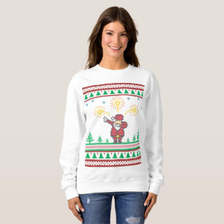 Dabbing Santa Claus Ugly Christmas Sweater