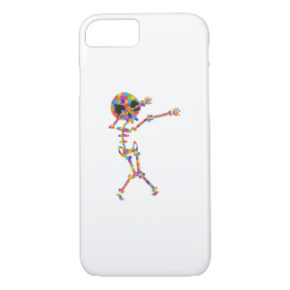 Dabbing Skeleton For Autism Case-Mate iPhone Case