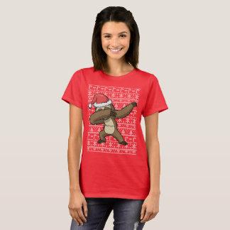 Dabbing Sloth Ugly Christmas Sweater Dab