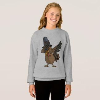 Dabbing Turkey T-Shirt Funny Thanksgiving