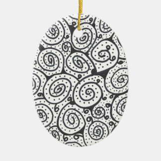DAC ZEN 001 CERAMIC OVAL ORNAMENT