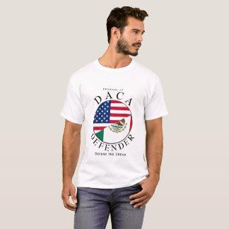 DACA DEFENDER in white T-Shirt