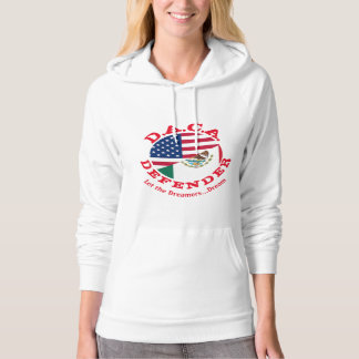 DACA Defender (with quote on back)pull over hoodie