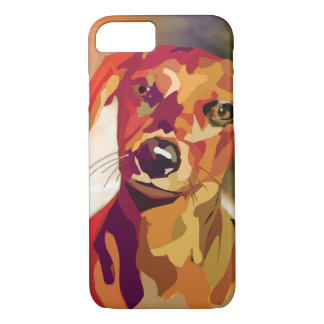 Dachshound mania iPhone 8/7 case