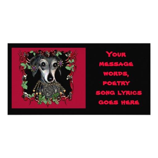 Dachshound Weiner Dog Photo Card