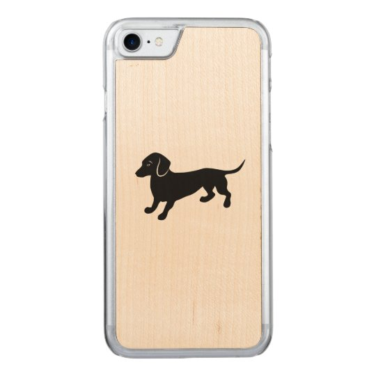 dachshund2.ai carved iPhone 7 case