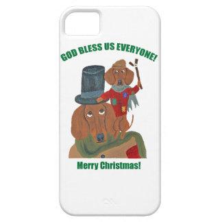 "Dachshund ""A Christmas Carol"" Tiny Tim iPhone 5 Cover"