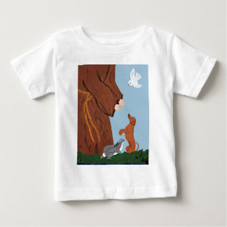 Dachshund And St. Francis Baby T-Shirt
