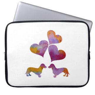 Dachshund Art Laptop Sleeve