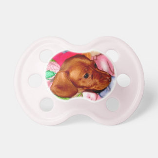 Dachshund Baby Gifts or ADD Your Photo to Pacifier