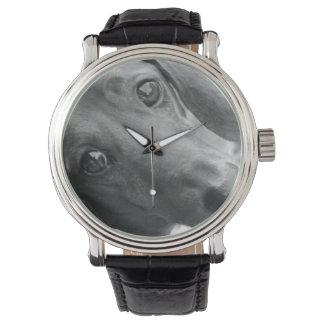 Dachshund Black & White Dog Lover's Watch