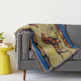Dachshund Blanket Throw