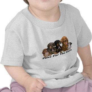 Dachshund Breast Cancer Toddler Unisex Shirt