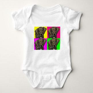 Dachshund Bright Dog Collage Baby Bodysuit