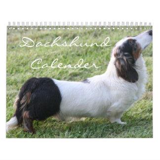 Dachshund Calender Calendar