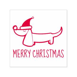 Dachshund Christmas Self-Inking Stamp