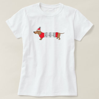Dachshund Christmas T-Shirt