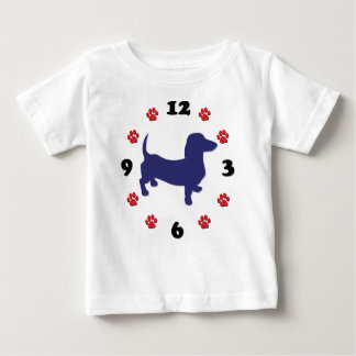 Dachshund Clock Tshirts