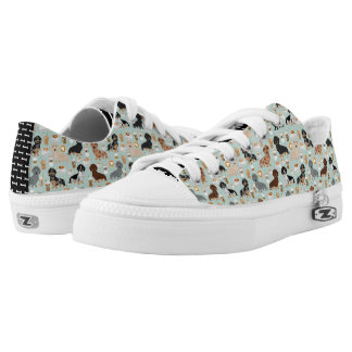 Dachshund coffees design Low-Top sneakers