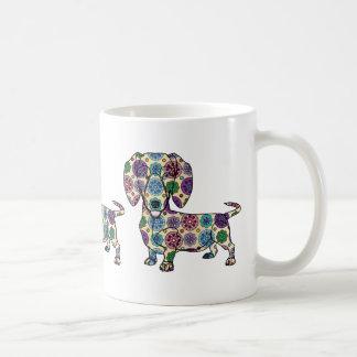 Dachshund - Colored Coffee Mug
