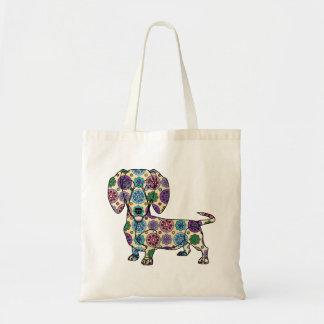 Dachshund - Colored Tote Bag