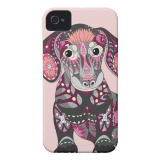Dachshund Colors iPhone 4 Covers