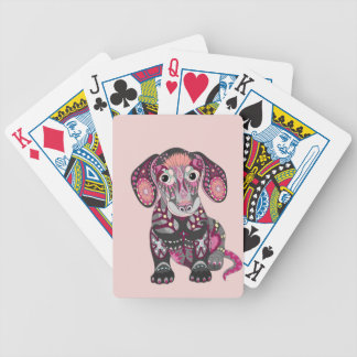 Dachshund Colors Poker Deck