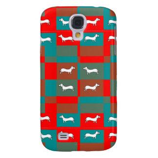 Dachshund Design on Samsung Galaxy S4 Cover