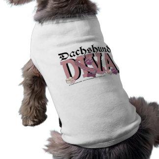 Dachshund DIVA Dog Tee