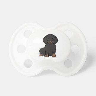 Dachshund Dog Cartoon Pacifier