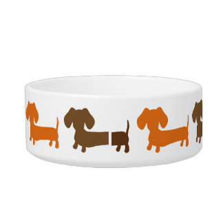 Dachshund Dog Food Dish Water Bowl Cat Water Bowls