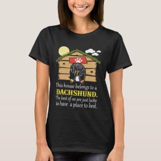 Dachshund Dog House T-Shirt