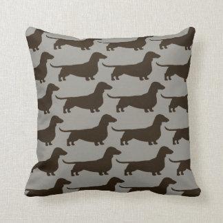 Dachshund Dogs Pattern Pillows