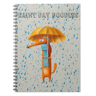 Dachshund Doodle Pad Wiener Dog Journal Book