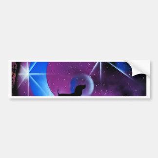 Dachshund Dreams Bumper Sticker