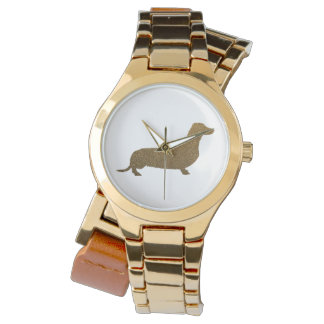 Dachshund Faux Glitter | Dog Lover Icon Watch