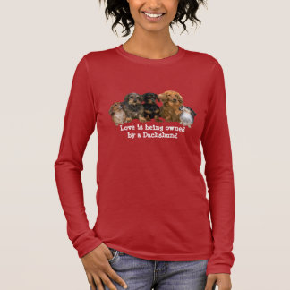 Dachshund Gang Ladies T-Shirt