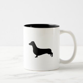 Dachshund Gear Two-Tone Coffee Mug