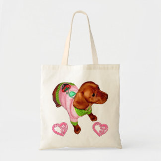 Dachshund Gift for Dachshund Lovers Custom Tote