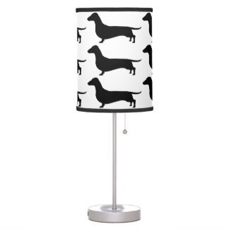 Dachshund Gifts Table Lamp