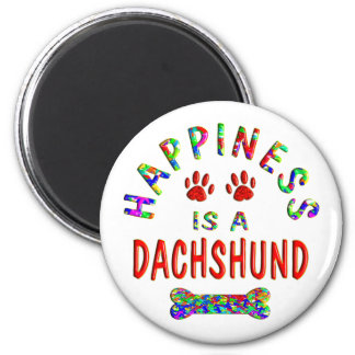 Dachshund Happiness Magnet