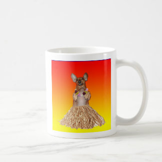 Dachshund Hula Coffee Mug
