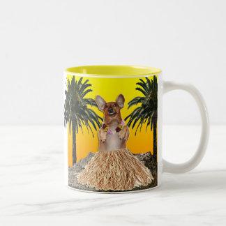 Dachshund Hula Mug