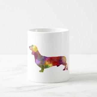 Dachshund in watercolor 2 coffee mug