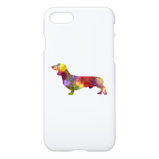 Dachshund in watercolor 2 iPhone 8/7 case