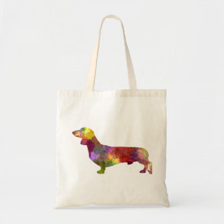 Dachshund in watercolor 2 tote bag