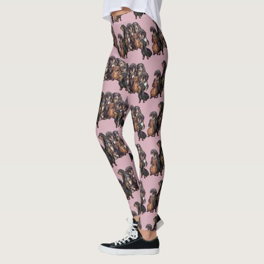 Dachshund leggings